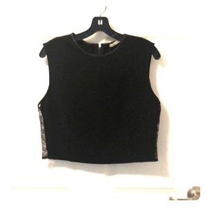 NWT Alice and Olivia Crop Top